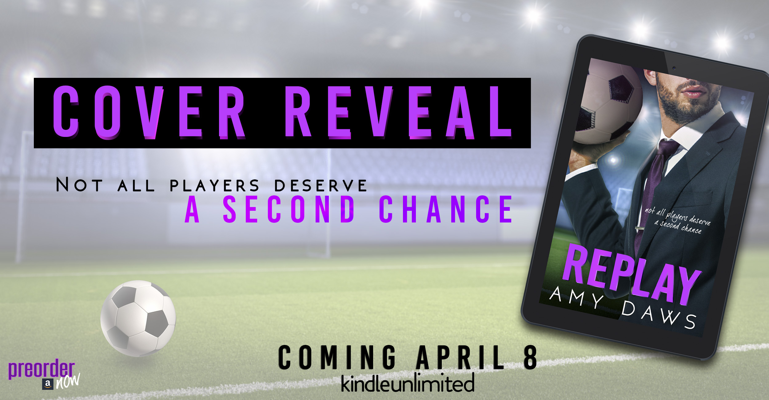 Cover Reveal:  Replay by Amy Daws
